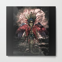 Naag Kanya Metal Print