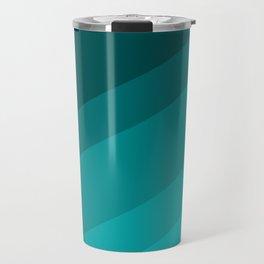 Colorblock in Turquoise Travel Mug