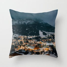 Cortina D'Ampezzo, Italy. Throw Pillow