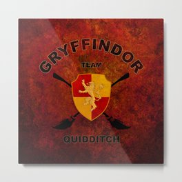 Gryffindor Quidditch Team Metal Print