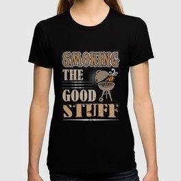 Smoking the Good Stuff BBQ Grill Meat T-shirt