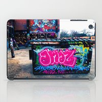 grafitti iPad Cases featuring Amazed Grafitti by Squint Photography