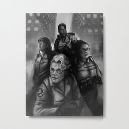 GB BnW Metal Print