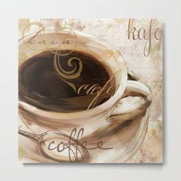 Le Cafe I Metal Print