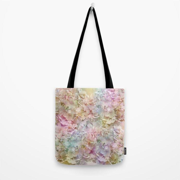 Pastel Hydrangeas Tote Bag