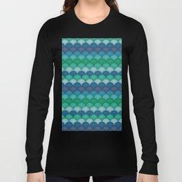 Mermaid Scales Long Sleeve T-shirt