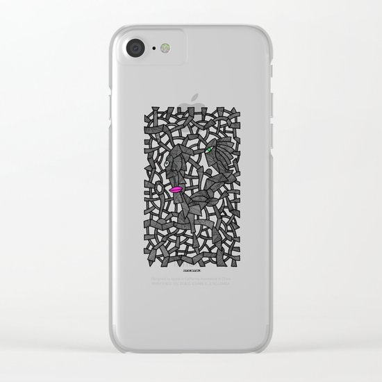 - nobody's perfect - Clear iPhone Case