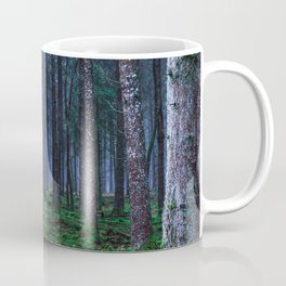 Green Magic Forest - Landscape Nature Photography Coffee Mug