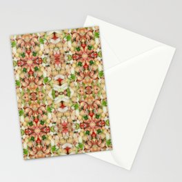 Chick Pea/Fava Bean Salad 2 Stationery Cards