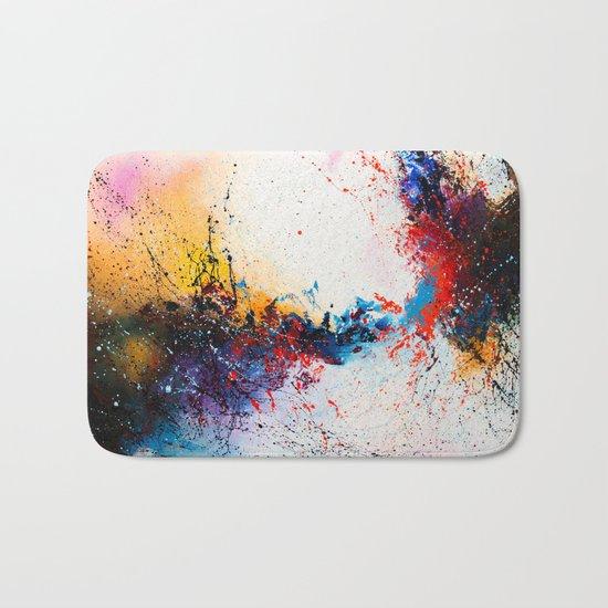 Whirlpool galaxy Bath Mat