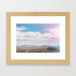 Dry Canyon Framed Art Print