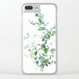 Botanical Clear iPhone Case