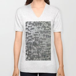 Tree Bark Unisex V-Neck