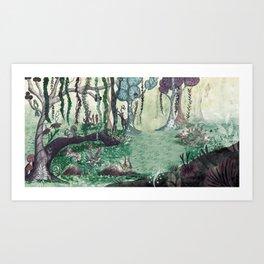 Forest / Bosque Art Print