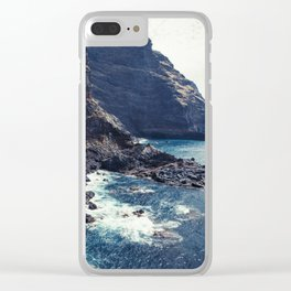 Wild Coast - La Palma - Canary Islands Clear iPhone Case