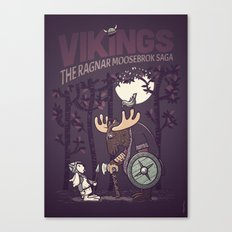 Vikings Canvas Print