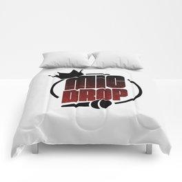 MIC DROP 1 Comforters