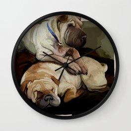 pups Wall Clock