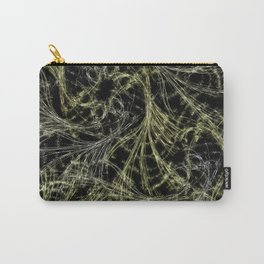 Yellow Magical Wisps Carry-All Pouch