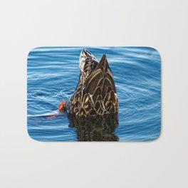 Mallard Duck Dabbling Bath Mat