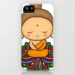 buda loto iPhone Case