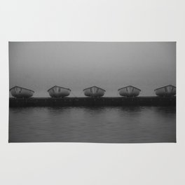 Boats in a Row Rug