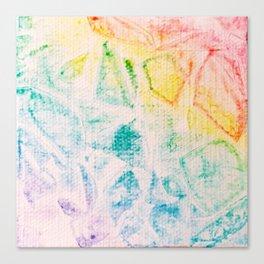 Rainbow Abstract #2 Canvas Print