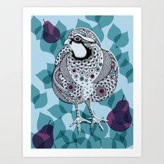 Partridge Art Print