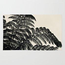 Palm Fan Rug