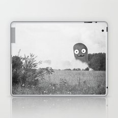 the passer-by saw only a wisp of smoke Laptop & iPad Skin