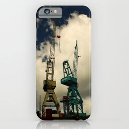 Harbor Crane iPhone Case