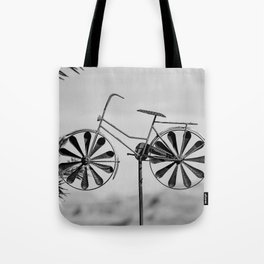 Day 1 of 7 Day B & W Challenge Tote Bag