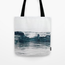 Glassy Blues Tote Bag