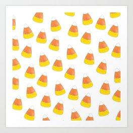 Candy Corn Mania Art Print