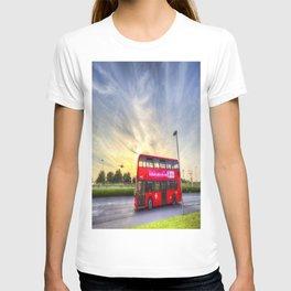 London Bus Sunset T-shirt