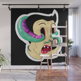 Curse of the Squid Wall Mural