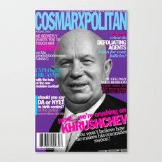 COSMARXPOLITAN, Issue 14 Canvas Print