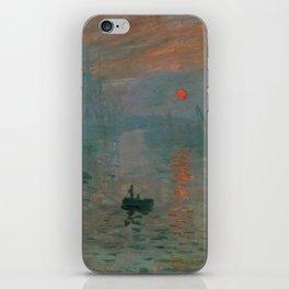 Claude Monet - Impression, Sunrise iPhone Skin