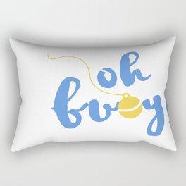 buoy oh buoy Rectangular Pillow