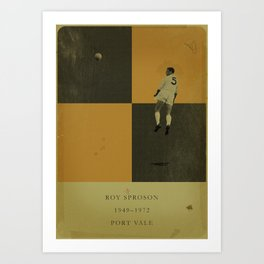 Port Vale - Sproson Art Print