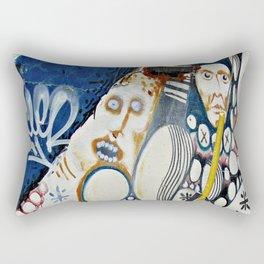 Scrapwood Alley Rectangular Pillow