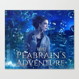 The Peabrain's Adventure Canvas Print