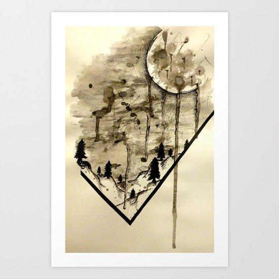 Everybody Cries Art Print