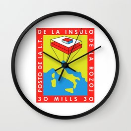 Republic of Rose Island (Recreate) Wall Clock
