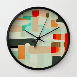 Abstract Painting No. 13 Wall Clock