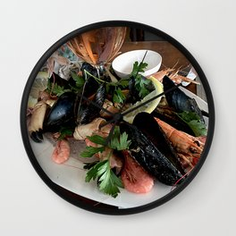 The dinner Wall Clock