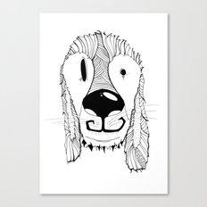 Dog sketch Canvas Print