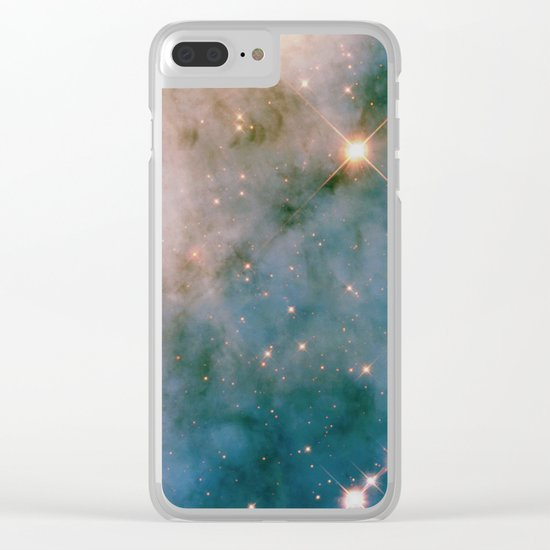 SPARKLING MILKY WAY GALAXY #2 Clear iPhone Case