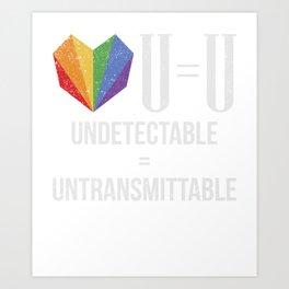HIV Bewusstsein AIDS T-Shirt Art Print