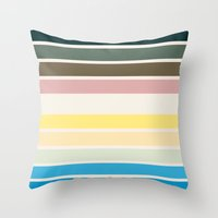 nausicaa Throw Pillows featuring The colors of - Nausicaa by hyos